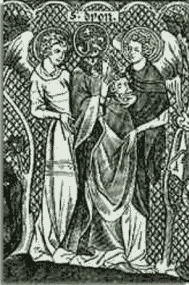 Saint Denis carrying his head
